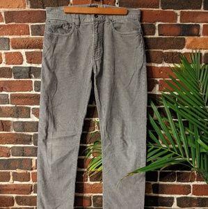 J.Crew Slim Straight corduroy pants